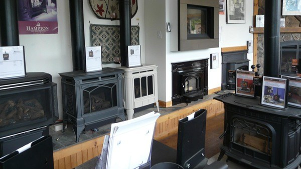 various wood stoves