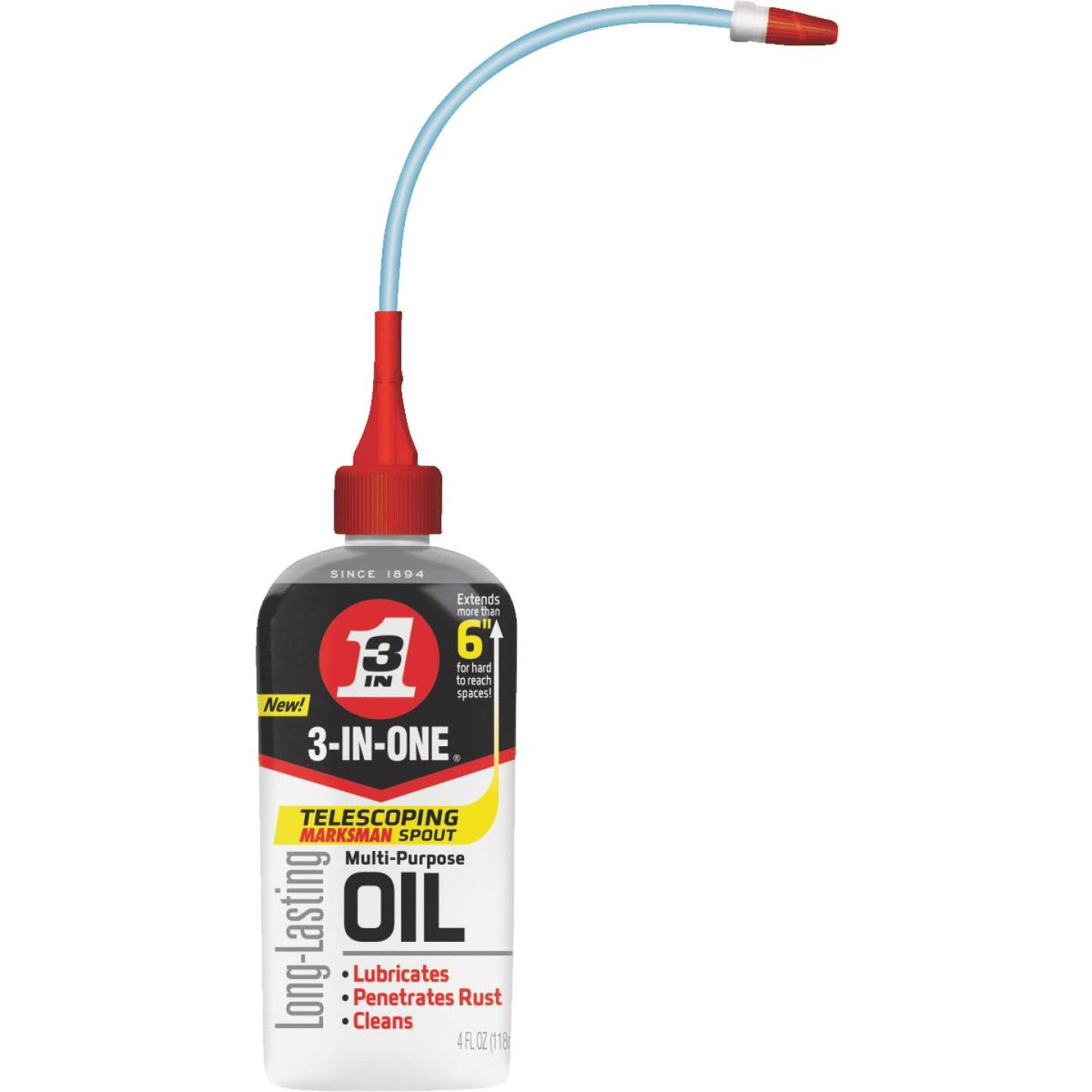 3-IN-ONE 4 Oz. Drip Can Multi-Purpose Lubricant with Telescoping Spout Image 1