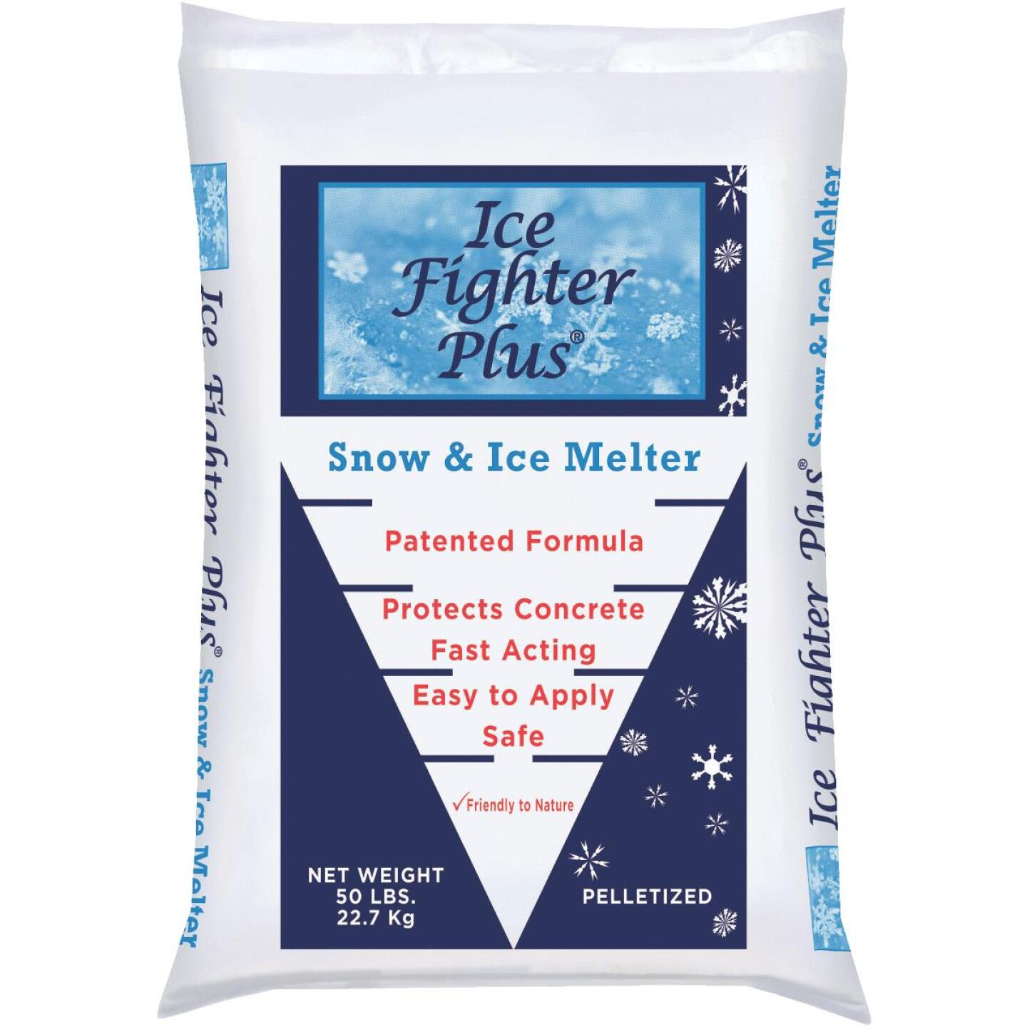 Ice Fighter Plus 50 Lb. Ice Melt Pellets Image 1