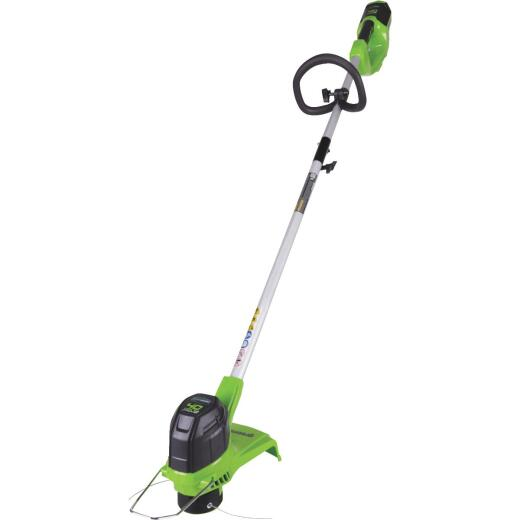 Greenworks G-Max 40V 12 In. Lithium Ion Straight Cordless String Trimmer