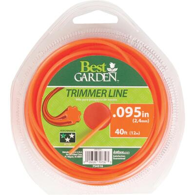 Best Garden 0.095 In. x 40 Ft. Round Trimmer Line